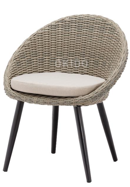 Egg Chair Greywash