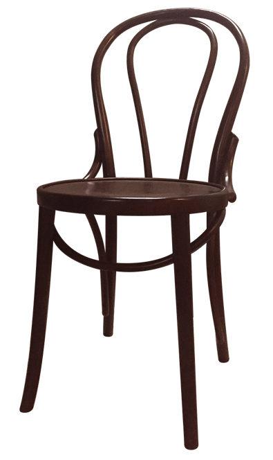 Stuhl A-018 Braun