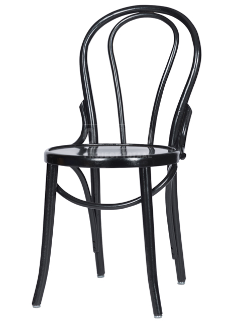 Stuhl A-018 Schwarz