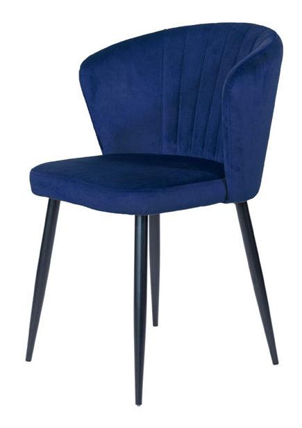 Stuhl Richmond Blau